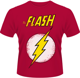 Idee regalo T-Shirt uomo Flash. DC Originals-The Flash Plastic Head