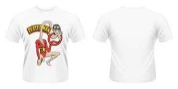 Idee regalo T-Shirt uomo DC Originals. Plastic Man Plastic Head