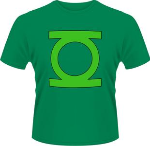 Idee regalo T-Shirt uomo Green Lantern DC Originals-Green Lantern Logo Plastic Head