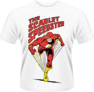 Idee regalo T-Shirt uomo Flash. DC Originals-The Scarlet Speedster Plastic Head