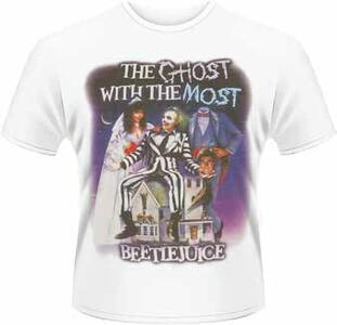 T-Shirt uomo Beetlejuice. The Ghost with the Most