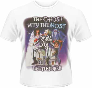 Idee regalo T-Shirt uomo Beetlejuice. The Ghost with the Most Plastic Head