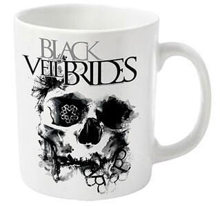 Tazza Black Veil Brides. Skullogram