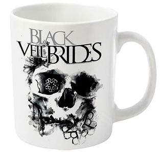 Idee regalo Tazza Black Veil Brides. Skullogram Plastic Head