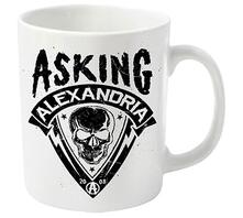 Tazza Asking Alexandria. Skull Shield