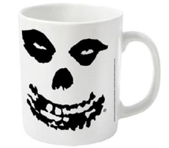 Idee regalo Tazza Misfits. All Over Skull Plastic Head