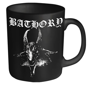 Idee regalo Tazza Bathory. Goat Plastic Head