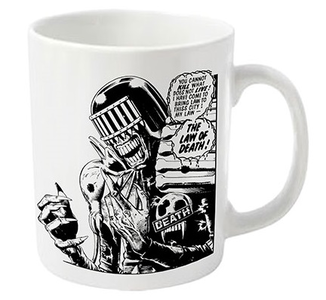 Idee regalo Tazza 2000 AD Judge Death. Judge Death Plastic Head