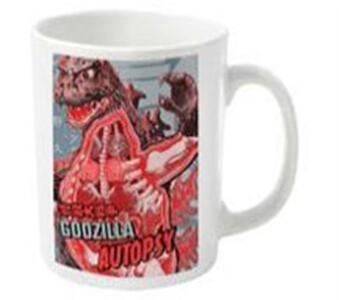 Tazza Godzilla. Autopsy