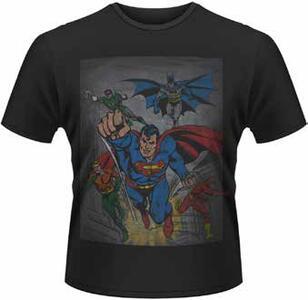 T-Shirt uomo DC Originals. Superheroes