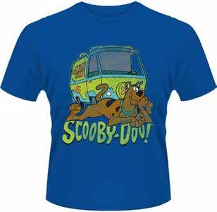 Idee regalo T-Shirt uomo Scooby Doo. Mystery Machine Plastic Head