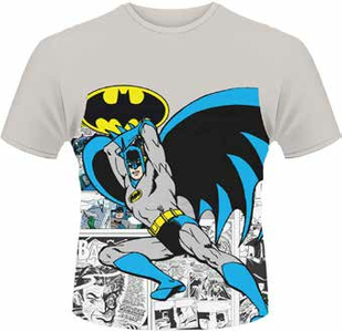 Idee regalo T-Shirt uomo DC Originals. Batman Logo Pose Plastic Head