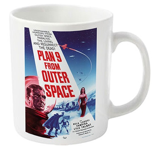 Idee regalo Tazza Plan 9. Plan 9 from Outer Space Plastic Head