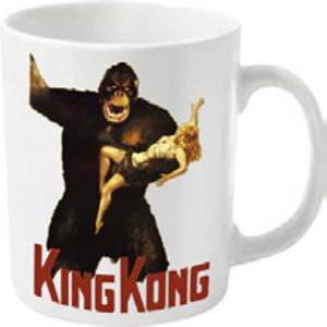 Idee regalo Tazza King Kong. Poster Plastic Head