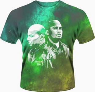 Idee regalo T-Shirt uomo Breaking Bad. Los Primos Plastic Head