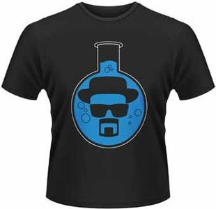 Idee regalo T-Shirt uomo Breaking Bad. Round Bottom Flask Plastic Head