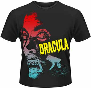 Idee regalo T-Shirt uomo Dracula. Terrifying Plastic Head
