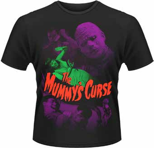 Idee regalo T-Shirt uomo The Mummy's Curse Plastic Head