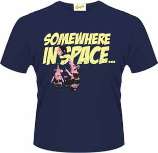 Idee regalo T-Shirt uomo Clangers. Somewhere in Space Plastic Head