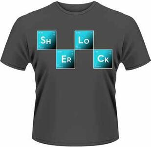 T-Shirt uomo Sherlock Holmes. Bad Breaking Sherlock