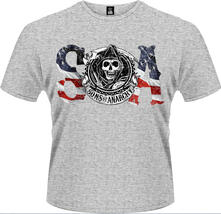 T-Shirt uomo Sons of Anarchy. Flag