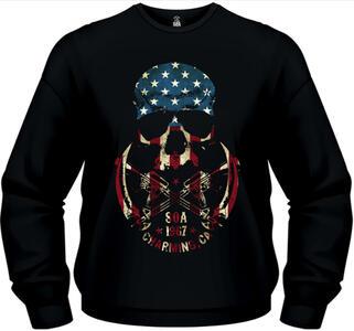 Felpa uomo Sons of Anarchy. Skull