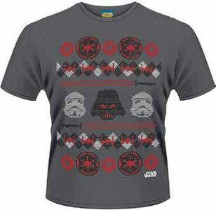 T-Shirt uomo Star Wars. Vader Fair Isle
