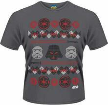 T-Shirt uomo Star Wars. Vader Fair Isle