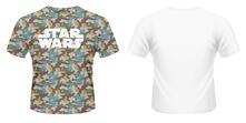 T-Shirt unisex Star Wars. Boba Fett Camo