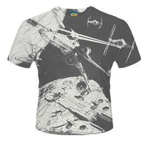 T-Shirt unisex Star Wars. Space Battle - 2