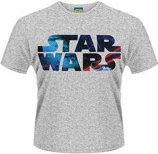 T-Shirt uomo Star Wars. Space Logo