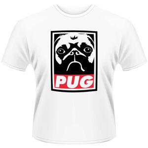 T-Shirt unisex Plan 9. Pug Propaganda Pug