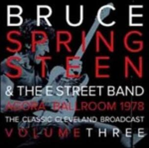 Agora Ballroom 1978 vol.3 (Clear Disc - Limited Edition) - Vinile LP di Bruce Springsteen