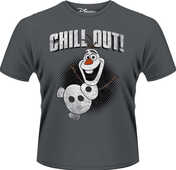 Idee regalo T-Shirt Frozen. Olaf Chill Out Plastic Head