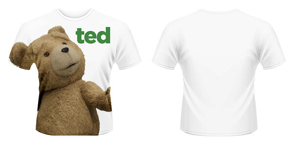 T-Shirt unisex Ted. Ted