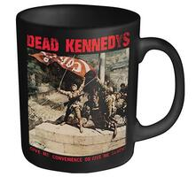 Tazza Dead Kennedys. Convenience or Death