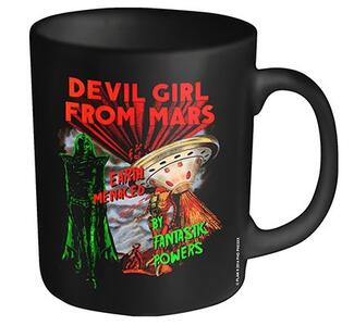 Tazza Plan 9. Devil Girl from Mars