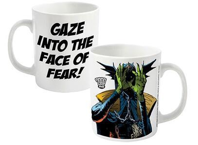 Tazza 2000 AD. Judge Dredd Fear