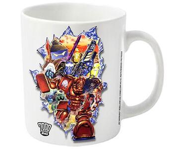 Tazza 2000 AD. Abc Warriors Smash