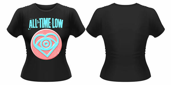 All Time Low. Candy Heart (Puff Print)