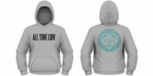 Felpa con Cappuccio All Time Low. Future Hearts