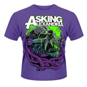 T-shirt unisex Asking Alexandria. Night Slime 2