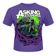 T-shirt unisex Asking Alexandria. Night Slime 2
