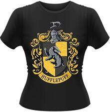 T-Shirt donna Harry Potter. Hufflepuff