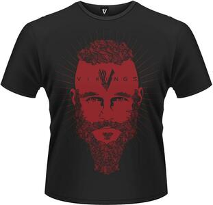 T-Shirt Vikings. Ragnar Face