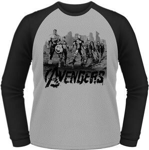 T-Shirt maniche lunghe Avengers. Age Of Ultron. Team Art