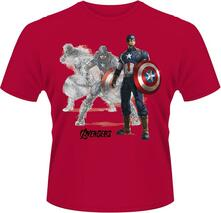 T-shirt unisex Avengers. Age of Ultron. Captain America Draw