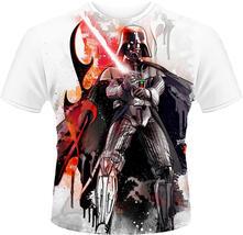 T-Shirt unisex Star Wars. Vader Stencil