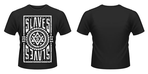 T-Shirt unisex Slaves. Slaves