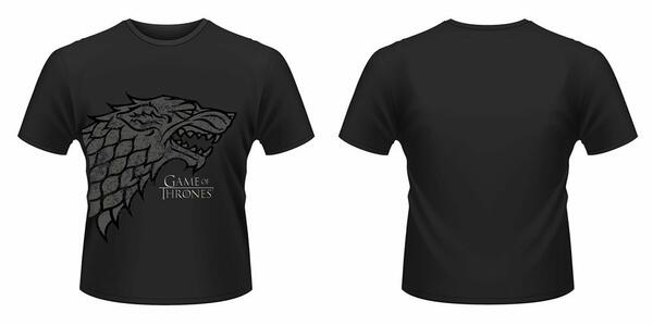 T-Shirt unisex Trono di Spade (Game of Thrones) Direwolf